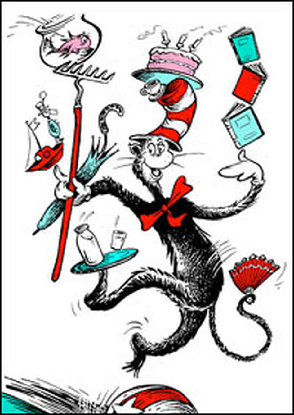 Dr Seuss Book The Cat In The Hat Level